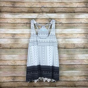 Maurices • Dotted Black White Tank Top Size Large